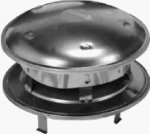 Selkirk Metalbestos 6T-Ct 6-Inch Stainless Steel Round Top