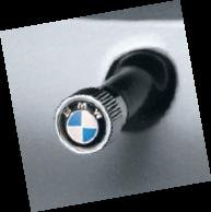 Bmw Genuine Factory Oem 36110421544 Valve Stem Caps Set Of 4 Roundel Logo from BMW Factory OEM
