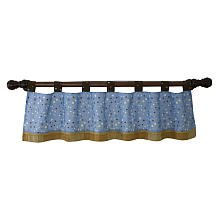 S. S. Noah Window Valance - 1
