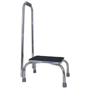 Footstool/Stepstool with Handrail