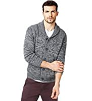 North Coast Pure Cotton Textured Cardigan