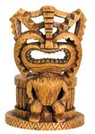 Happy Tiki Hawaii Votive/Candle Holder Collectible