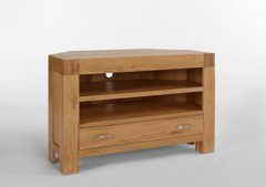 Ametis Santana Blonde Oak Corner Tv Unit