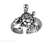 Sterling Silver Nonpiercing Turtle Ear Cuff