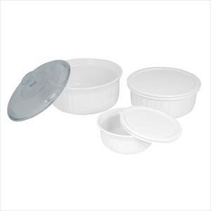 Corningware French White 6-pc Set