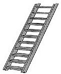 Plastruct STAS-8 O Scale Stair, 3'-0""