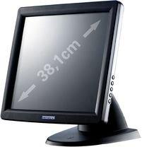 Glancetron Touchscreen-moniteur 38.1 cm (15 Zoll) GT15plus 1024 x 768 Pixel 5:4 8 ms VGA, USB, Serie