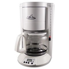 - Home/Office 12-Cup Coffee Maker, White mystery mot 3333