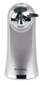 Brand New Electric Can Opener West Bend Kitchen Countertop Compact Slim Design Automatic