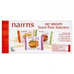 Nairn's Oat Biscuit Snack Pack Selection, 12 x 180g