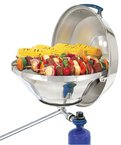 Mar. Kettle Gas Grill W/ Hinged Lid Party Size from MAGMA