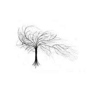 contemporary metal wall art design windy tree kitchen