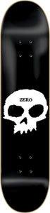 Zero Single Skull Skateboard Deck - 8.0