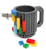 Build-On Brick Mug - BPA-free 12oz Coffee Mug