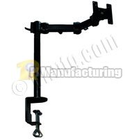 Lcd Desk Mount Monitor Arm, 16.53Inch Long, 75Mm And 100Mm Vesa Compatible