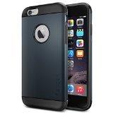 iPhone 6 ケース Spigen Apple iPhone 4.7 (2014) スリム アーマー (国内正規品) (メタル・スレート SGP11169)
