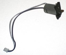 Blue Wire Blade Main Motor With Mount For Double Horse 9053 Gyro Helicopter
