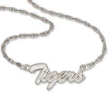 Auburn Script Necklace