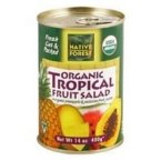 Native Forest Tropical Fruit Salad Organic, 14-Ounce (Pack of 6) (Organic Passion Fruit Juice compare prices)