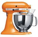 Kitchen Aid 5KSM150 Stand Mixer Tangerine Color - 220 Volts only! Will not wo...