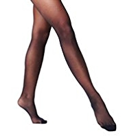 2 Pairs of 10 Denier Matt Bodyshaper Tights