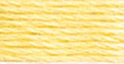 DMC Pearl Cotton Skeins Size 3 16.4 Yards Very Light Golden Yellow 115 3-3078; 12 Items/Order