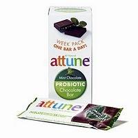 Attune Foods Mint Chocolate Probiotic Bar -- 4x7x.7 Oz (Attune Bars compare prices)
