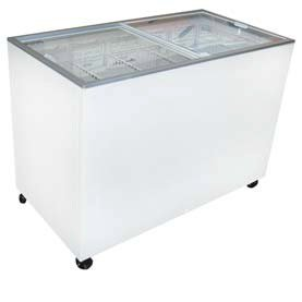 Excellence Euro-13Wr Ice Cream Flat Top Flat Lid Display Freezer - 12.5 Cu.Ft front-341417