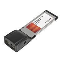 StarTech.com 2 Port ExpressCard 1394b FireWire Laptop Adapter Card (EC1394B2)