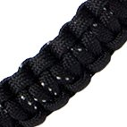 WaterFit Paracord Handle for Hydro Flask Bottle (Black Speckled)