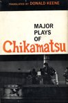 img - for Major Plays of Chikamatsu book / textbook / text book
