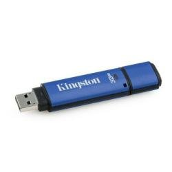 KINGSTON DTVP/32GB DataTraveler Vault (Privacy Edition) 32GB USB Flash Drive (100% Encrypted)