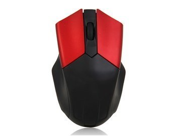 2.4G 10 M From 2402 To 2480 Mhz Wireless Gaming Mouse (Red)