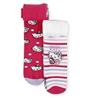 2 Pairs of Hello Kitty Tights