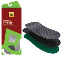 Spenco ThinSole 3/4 Length Orthotics, For Dress Shoes, Size: 10 -11 / 11-12 - 1 Pair