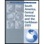img - for South America, Central America, and the Caribbean 2001 book / textbook / text book