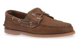 Timberland Men's Classic 2-Eye Boat Shoe,Brown/Brown,10.5