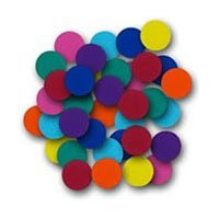 Flipside Products 45007 Create-A-Shape Assorted Color 2 in. Circles - 48 Pack