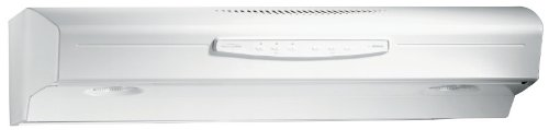 Broan Broan Qs242Ww Under-Cabinet Hood, White-On-White, 42-Inch, 300-Cfm White-On-White front-459531
