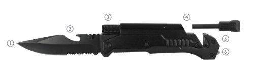 Se - Knife - Pocket, 6-In-1, 8.75In.