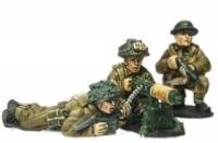 British Army Vickers Hmg Team Miniatures