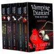 L J SMith's Vampire Diaries Books 1 to 7 Volimes (5 Books) Collection Set Pack (The Return: Midnight, The Fury: AND The Reunion, Nightfall, Shadow Souls, The Awakening: AND The Struggle)