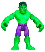 Marvel Playskool Super Hero Adventures Mini Figure Hulk [Bagged]