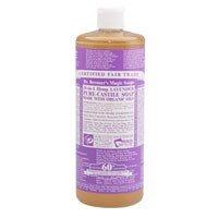 Dr Bronners Castile Lavender Liquid Soap, 32 Ounce -- 3 per case.