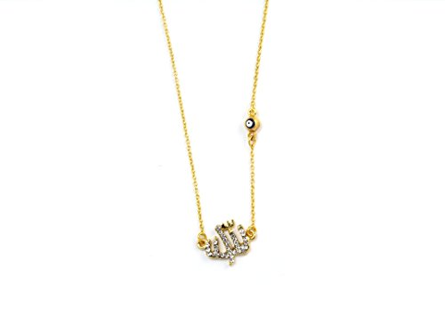 allah-necklace-pendant-muslim-with-evil-eye-rhinestones-gold-colour-nazar-boncuk