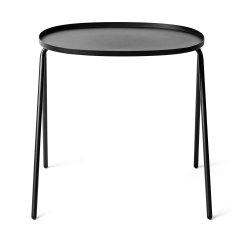 Menu Beistelltisch Afteroom Side Table schwarz