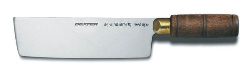 Dexter Russell S5197 Chinese Chefs Knife - 7W x 2D blade 5 chic chefs horizontal ceramic knife 13cm blade
