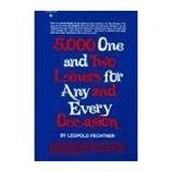 img - for 5000 One and Two Liners for Any and Evey Occasion book / textbook / text book
