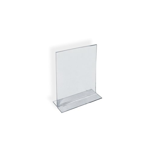 Azar 152731 3-1/2-Inch by 5-Inch Vertical Double-Sided Stand Up Sign Holder, 10 Count (Stand Up Recipe Holder compare prices)