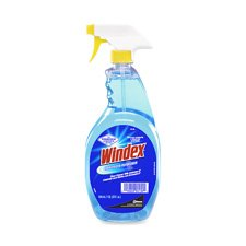 JohnsonDiversey DRA90135EA Windex Glass Cleaner- Trigger Bottle- Nonaerosol- 32 oz.
